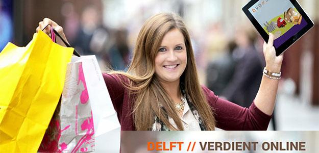 Delft verdient online